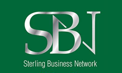 Sterling Business Network green logo